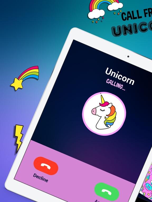 Unicorn - Fake Call-ipad-0