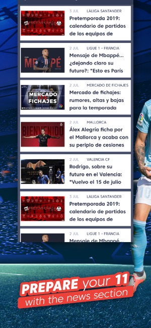 Calendario Liga Futbol 2020.Laliga Fantasy Marca 2020 On The App Store