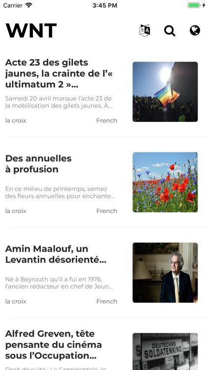 World News Translate