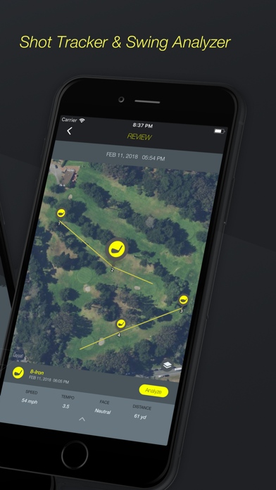 Golf Plus : Swing Analyzer screenshot two