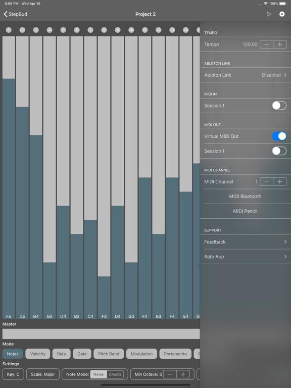 StepBud - AUv3 MIDI Sequencer