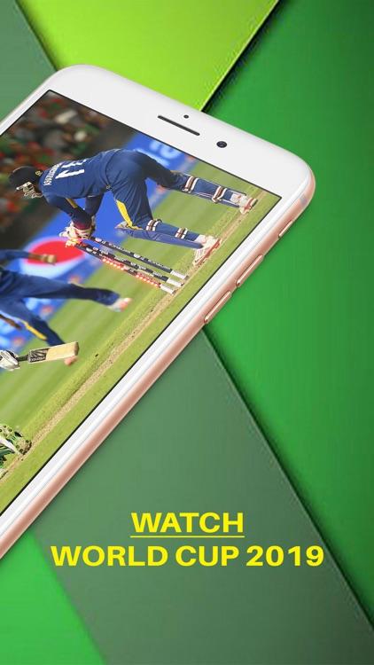 Live Cricket TV World Cup 2019 screenshot-3