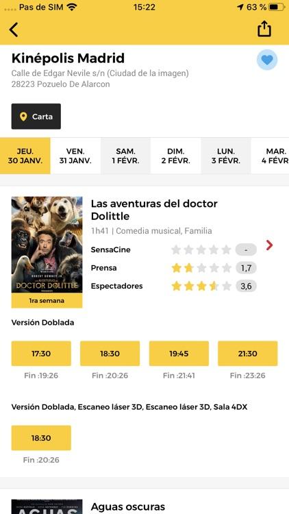 SensaCine - Cine y Series