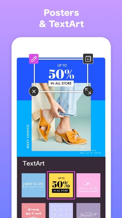 Pinso-Flyer & Poster Maker screenshot-8