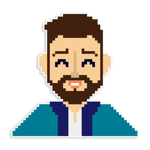 Pixel Beard