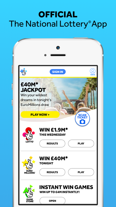 The National Lottery: Official - Revenue & Download estimates