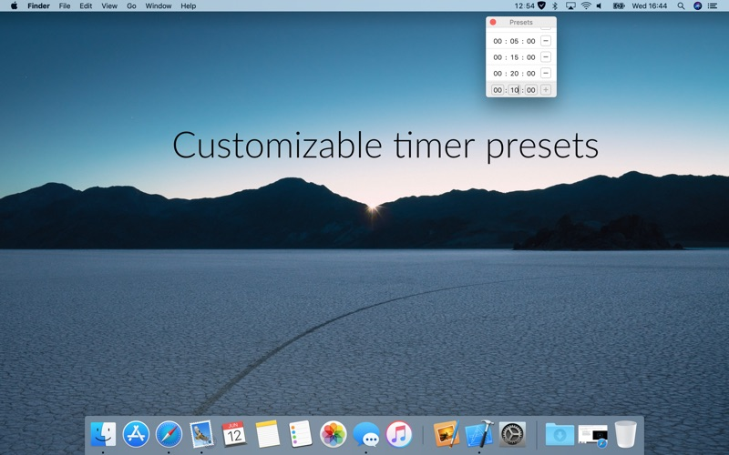 Timey 3: menu bar timer скриншот программы 2