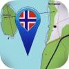 Topo kart - Norge