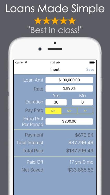 Loan Calculator - Debt Payoff