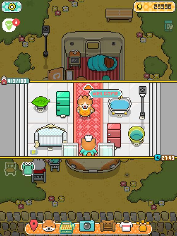柴犬のクレープ屋さん - かわいい犬たちと一緒に料理しよう!のおすすめ画像3