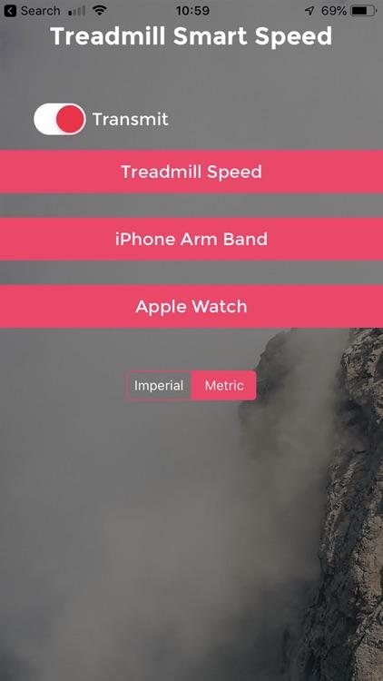 Treadmill Smart Speed
