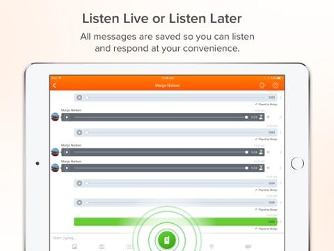 Скриншот из Voxer Walkie Talkie Messenger