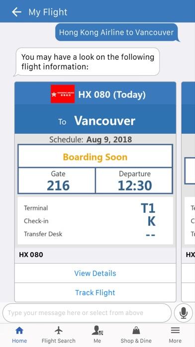 HKG My Flight (Official) screenshot two