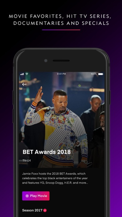 BET+ Screenshot