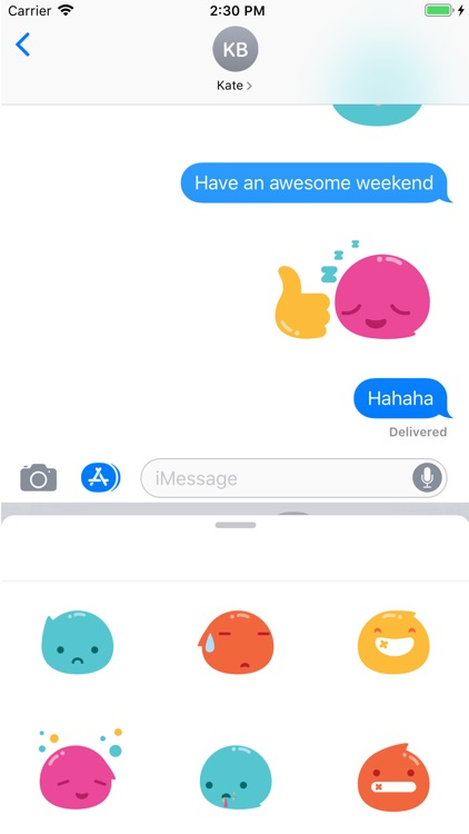 Driblet Stickers