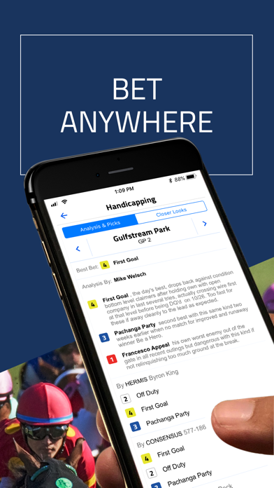 DRF - Horse Race Betting App by Daily Racing Form (iOS, United