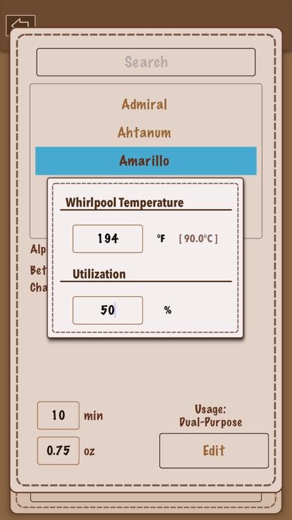 Beer Recipe Calculator screenshot-4