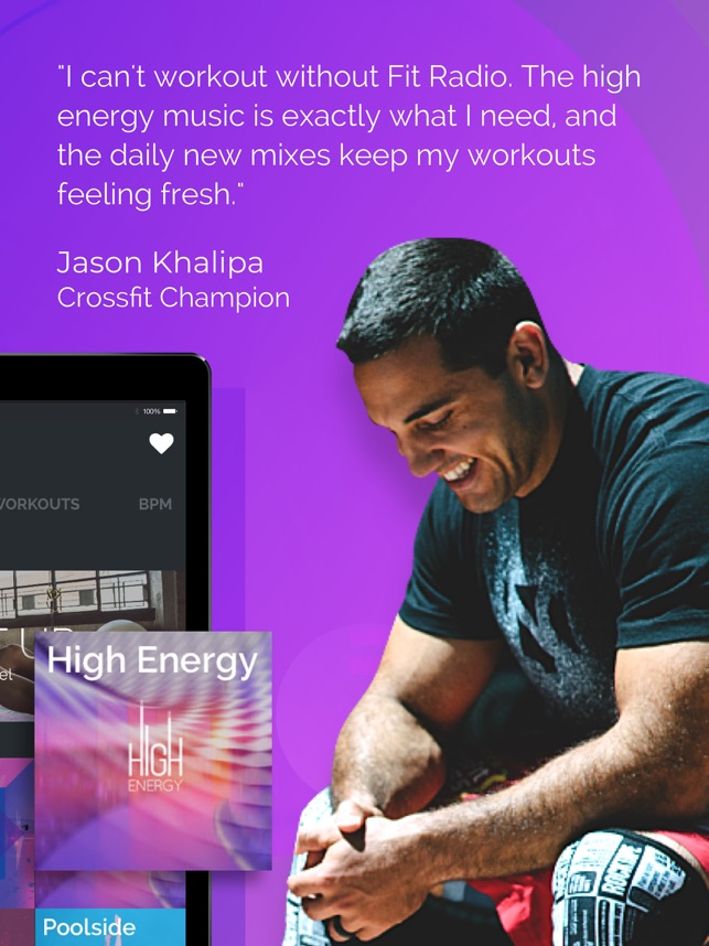 Fit Radio: Train Inspired on the App Store