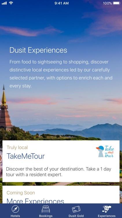 Dusit Hotels & Resorts screenshot-3