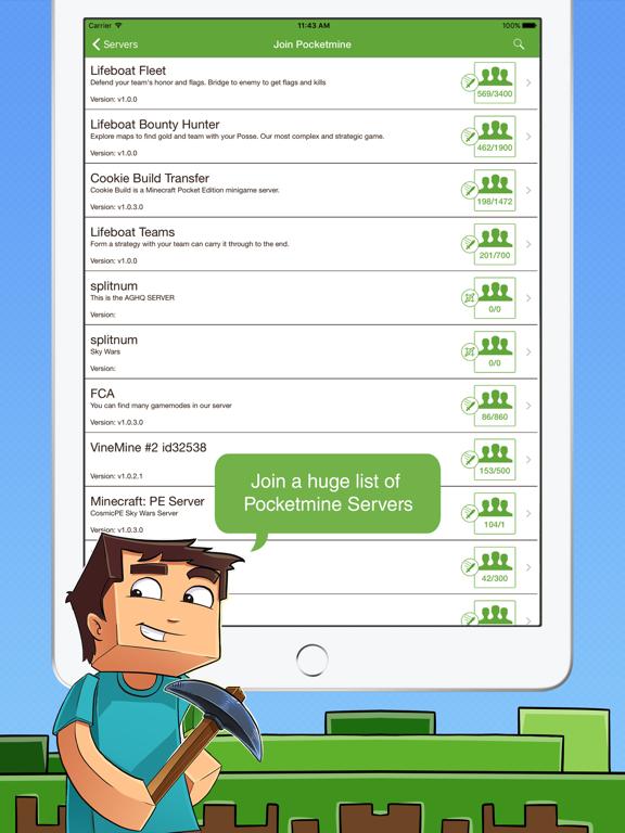 Multiplayer for Minecraft PE - Revenue & Download estimates