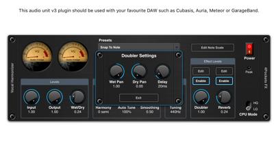 Vocal Harmonizer AUv3 Plugin screenshot 4