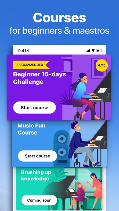 Hello Piano: Learn Pro Lessons Screenshot