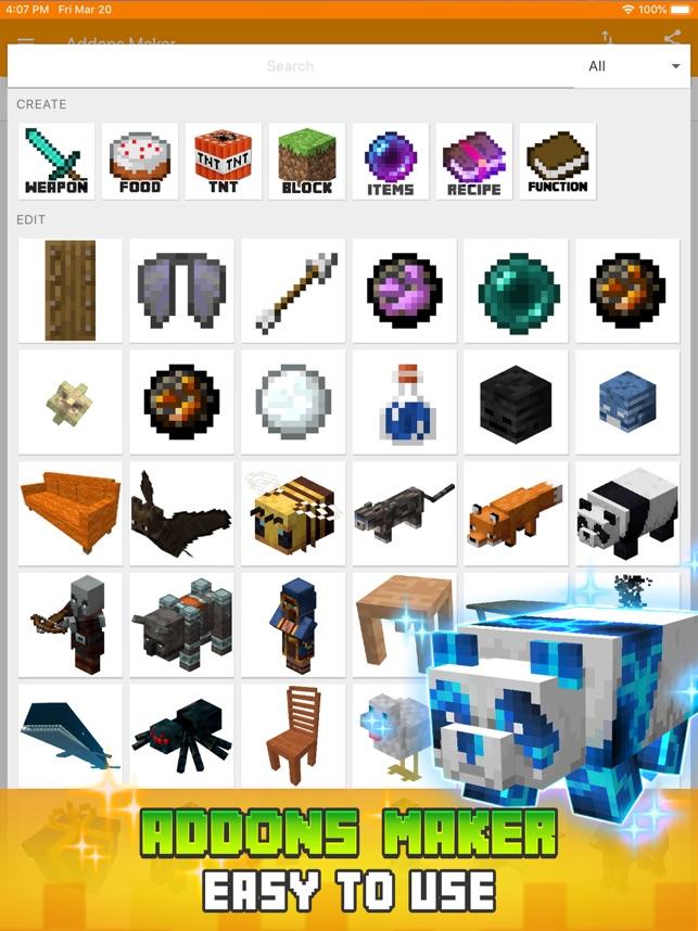 minecraft addon maker