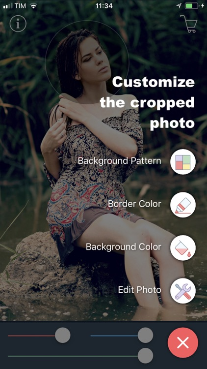 Circular Photo Cropping Tool