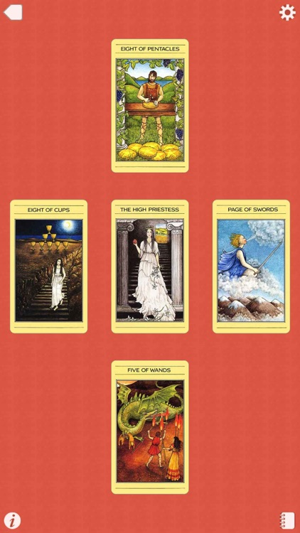 Mythic Tarot screenshot-4