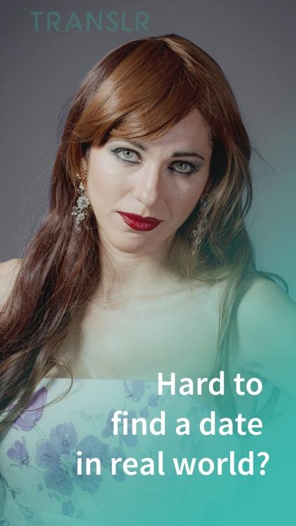 #1 Transgender Dating: Translr screenshot-0