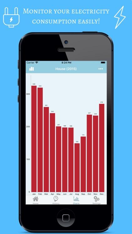 Electricity Meter Tracker screenshot-0