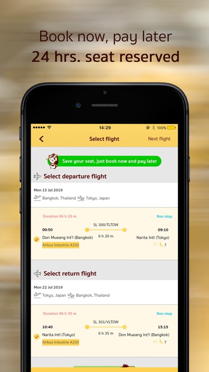 penguinT - airfare promotion screenshot-2