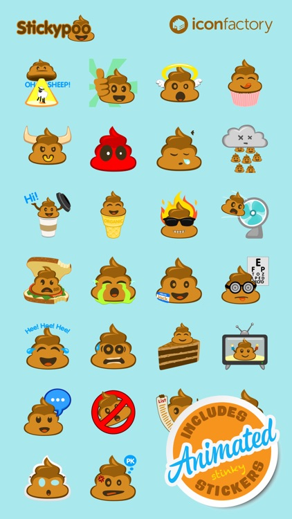 Iconfactory Stickypoo Stickers