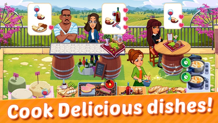 Delicious World - Cooking Game screenshot-6
