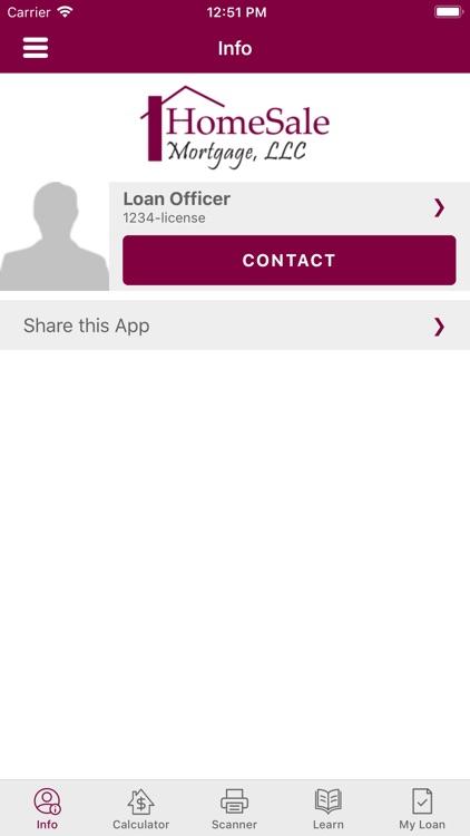 HomeSale Mortgage, LLC APP