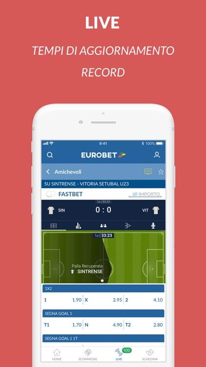 Eurobet Scommesse Sportive screenshot-4
