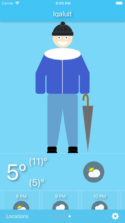 WeatherWear - dress for today