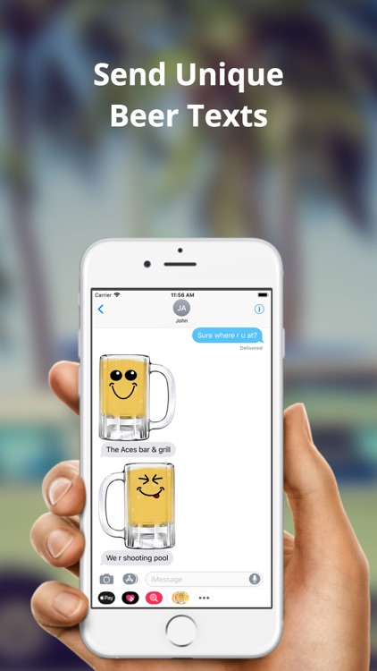 Cold Beer Emojis - Brew Text screenshot-3