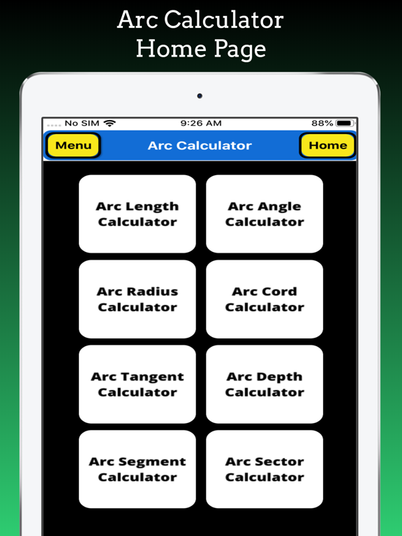 Arc Calculations screenshot 9
