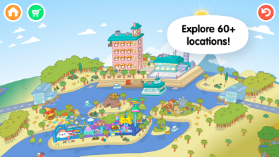 Screenshot for Toca Life: World in Czech Republic App Store