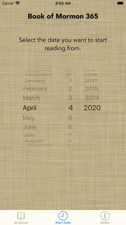 Book of Mormon 365 screenshot-4