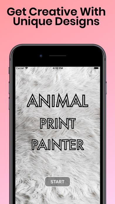 Animal Print Painter - 窓用