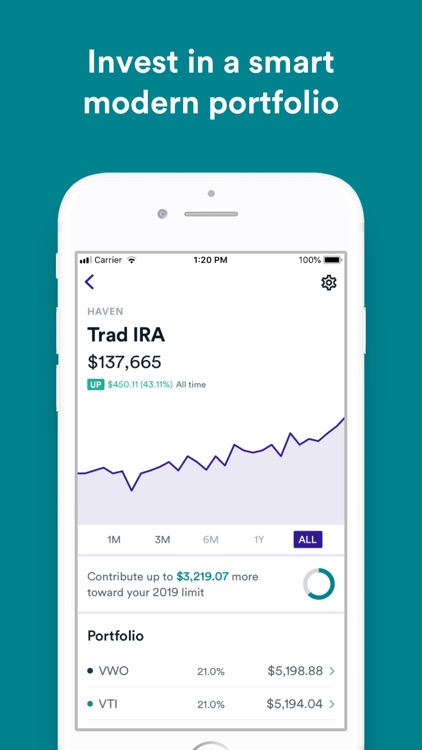 Haven: Invest & Save with Ease