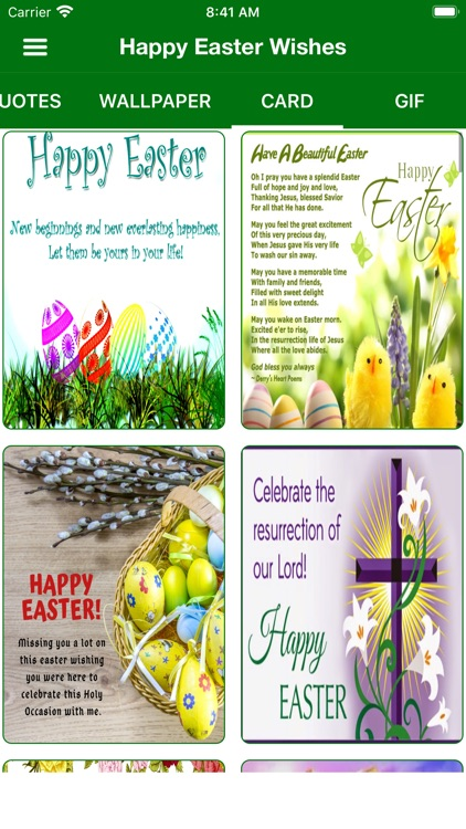 Easter Wishes Card & Wallpaper