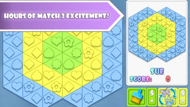 Fitz: Match 3 Puzzle Game screenshot-0
