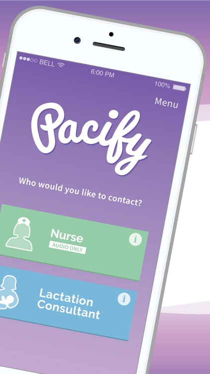 Pacify: Helping New Parents