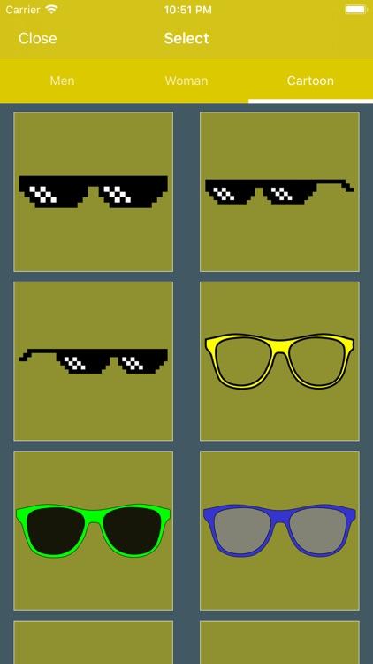 Glasses & Cap Photos PRO screenshot-3