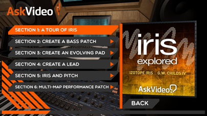 Explore Course for Iris 2