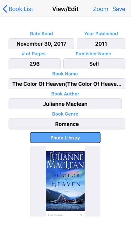My Books Read screenshot-5