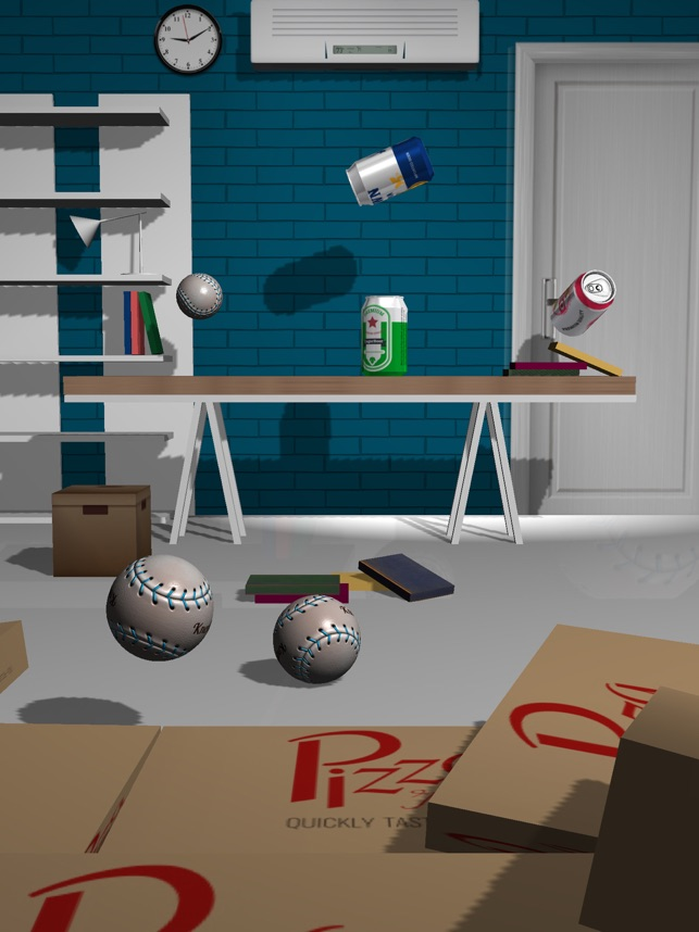 Beer Can Knockdown, game for IOS